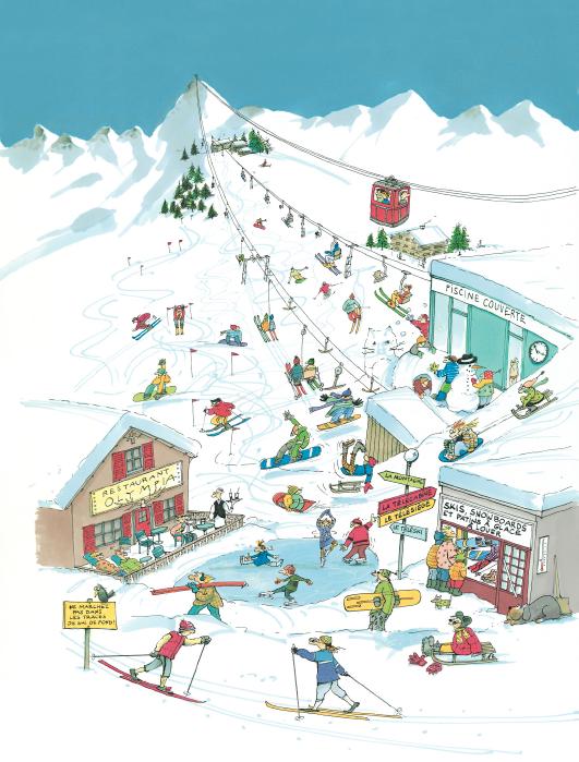 Preview image for LOM object Unterrichtseinheit: Les loisirs et les sports d'hiver