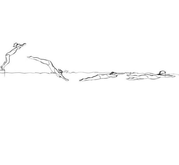 Preview image for LOM object Ins Wasser springen und gleiten