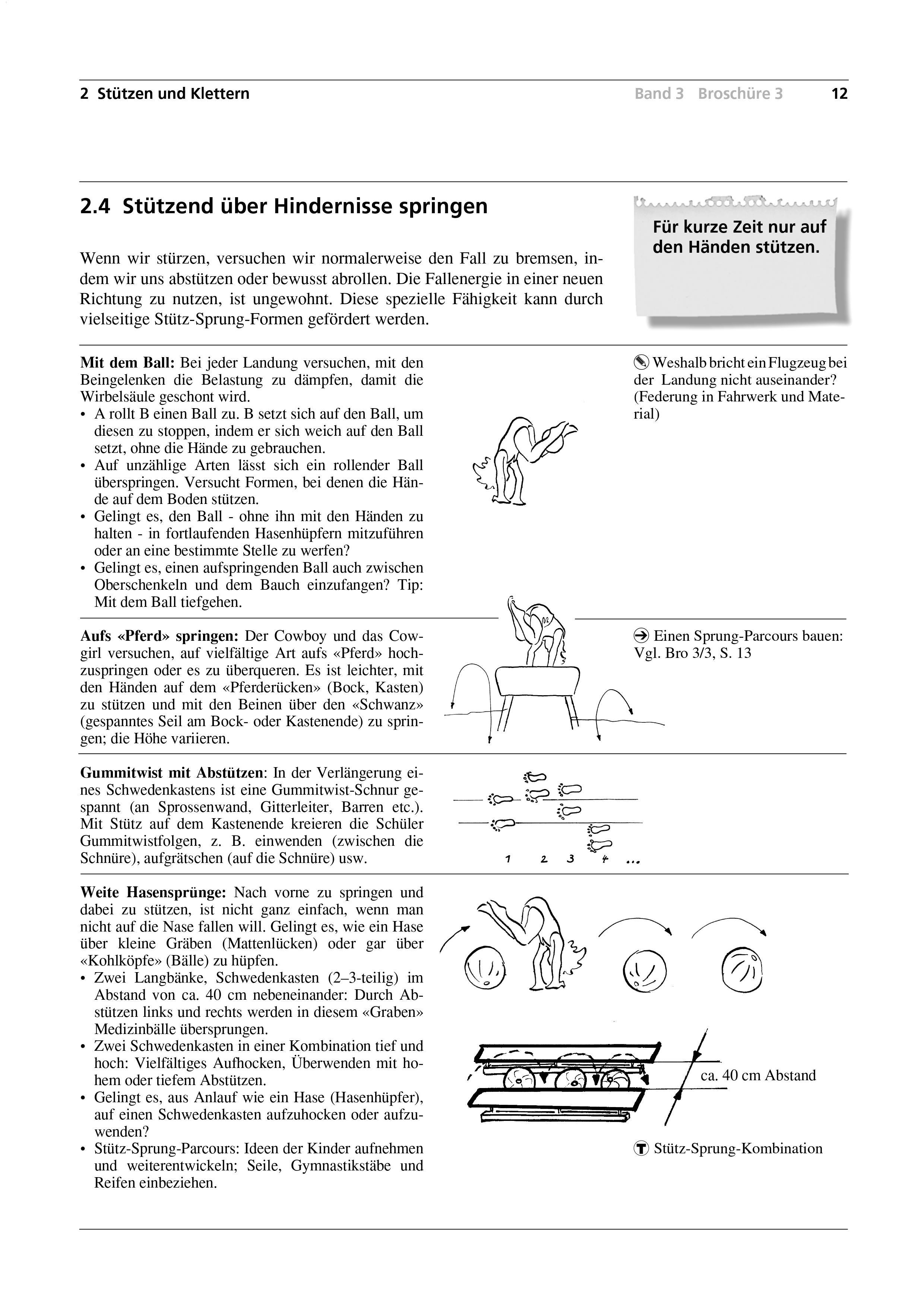 Preview image for LOM object Stützend über Hindernisse springen