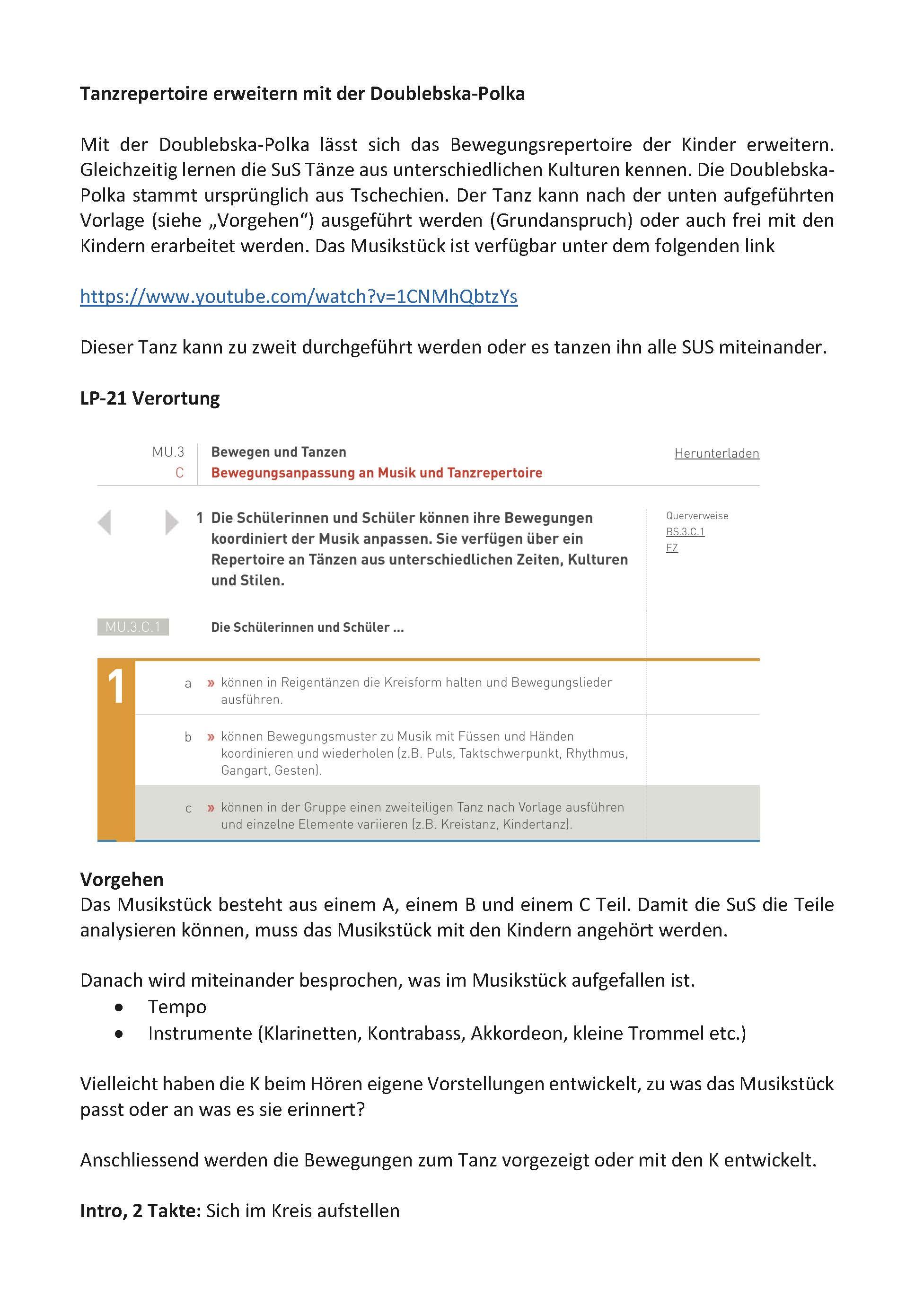 Preview image for LOM object Tanzrepertoire erweitern mit der Doublebska-Polka