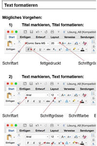 Preview image for LOM object Einführung in die Textverarbeitung
