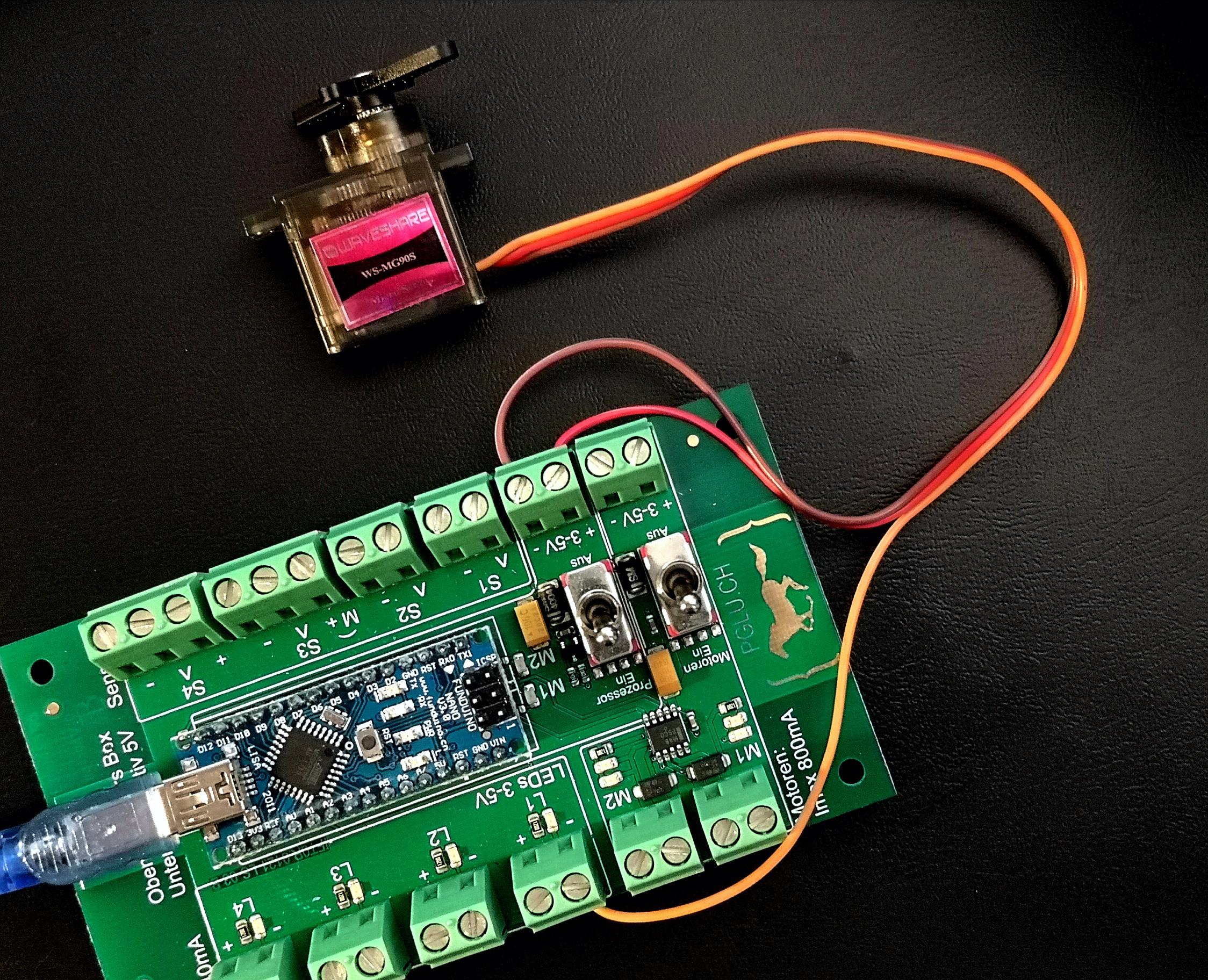 Preview image for LOM object Arduino Experimente mit Bewegung - Das Servo