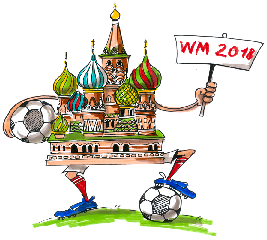 Preview image for LOM object IdeenSet Fussball WM 2018 in Russland