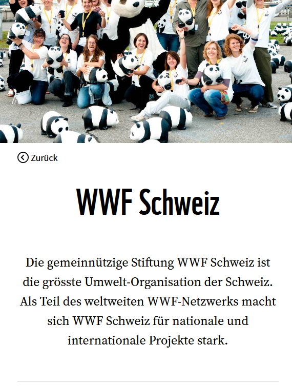 Preview image for LOM object WWF Schweiz