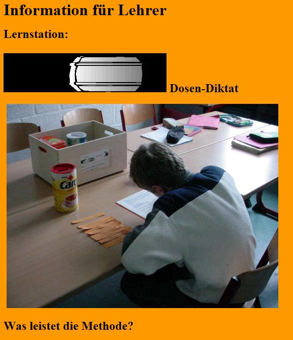 Preview image for LOM object Lese- und Rechtschreibschwächen angehen