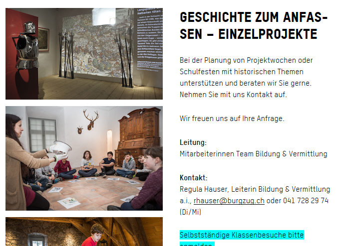 Preview image for LOM object Museum Burg Zug