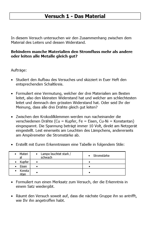 Preview image for LOM object Elektrische Leitfähigkeit