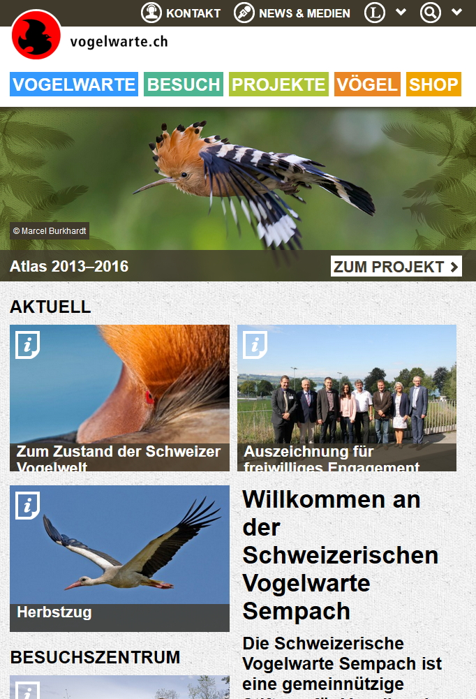 Preview image for LOM object Vogelwarte Sempach