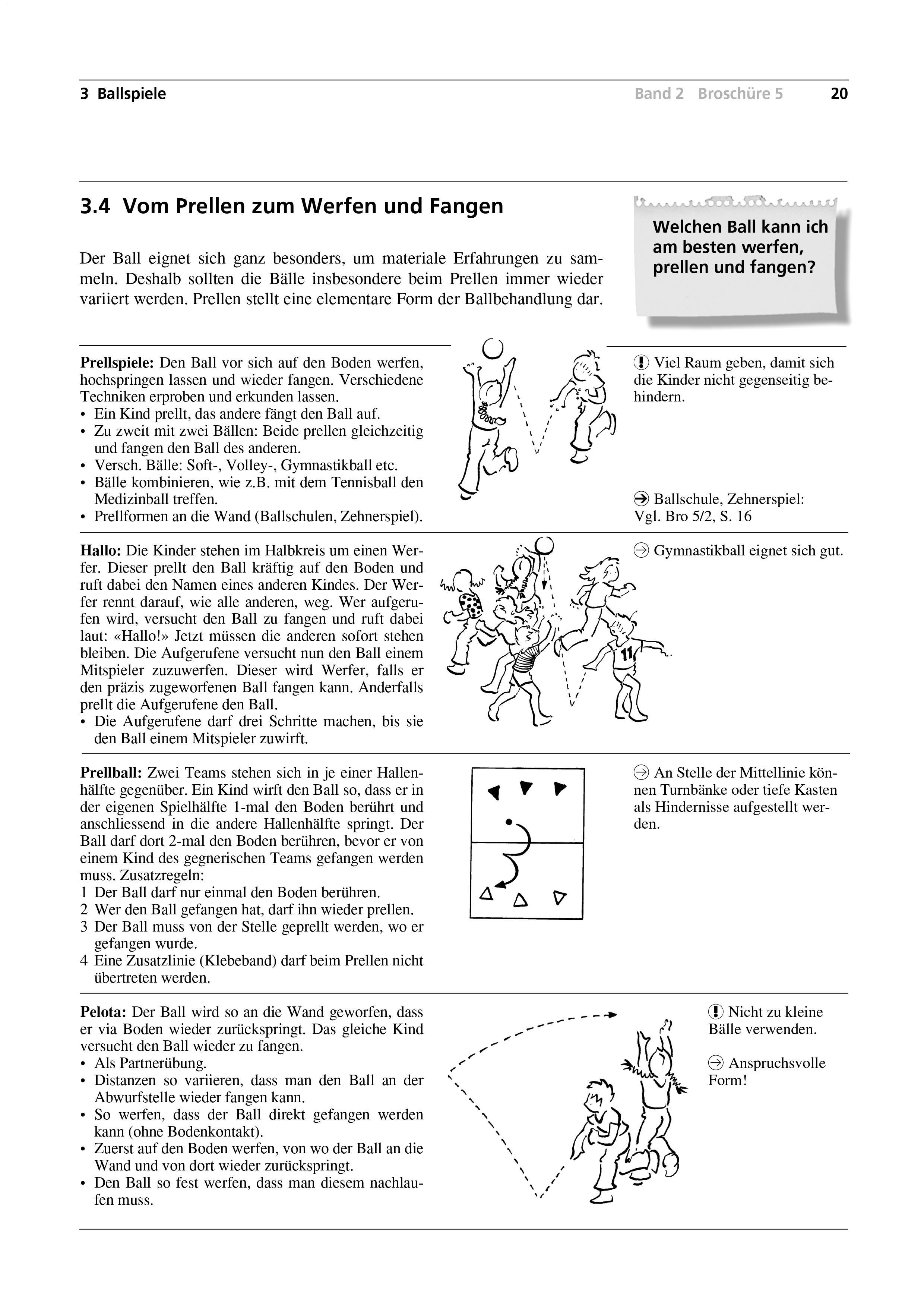 Preview image for LOM object Vom Prellen zum Werfen und Fangen