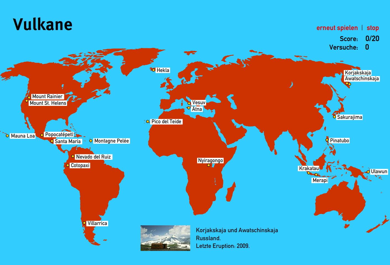 Preview image for LOM object Vulkane der Welt