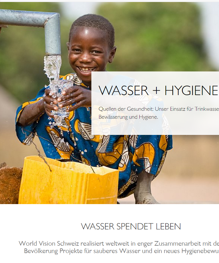 Preview image for LOM object world vision Schweiz: Wasser + Hygiene
