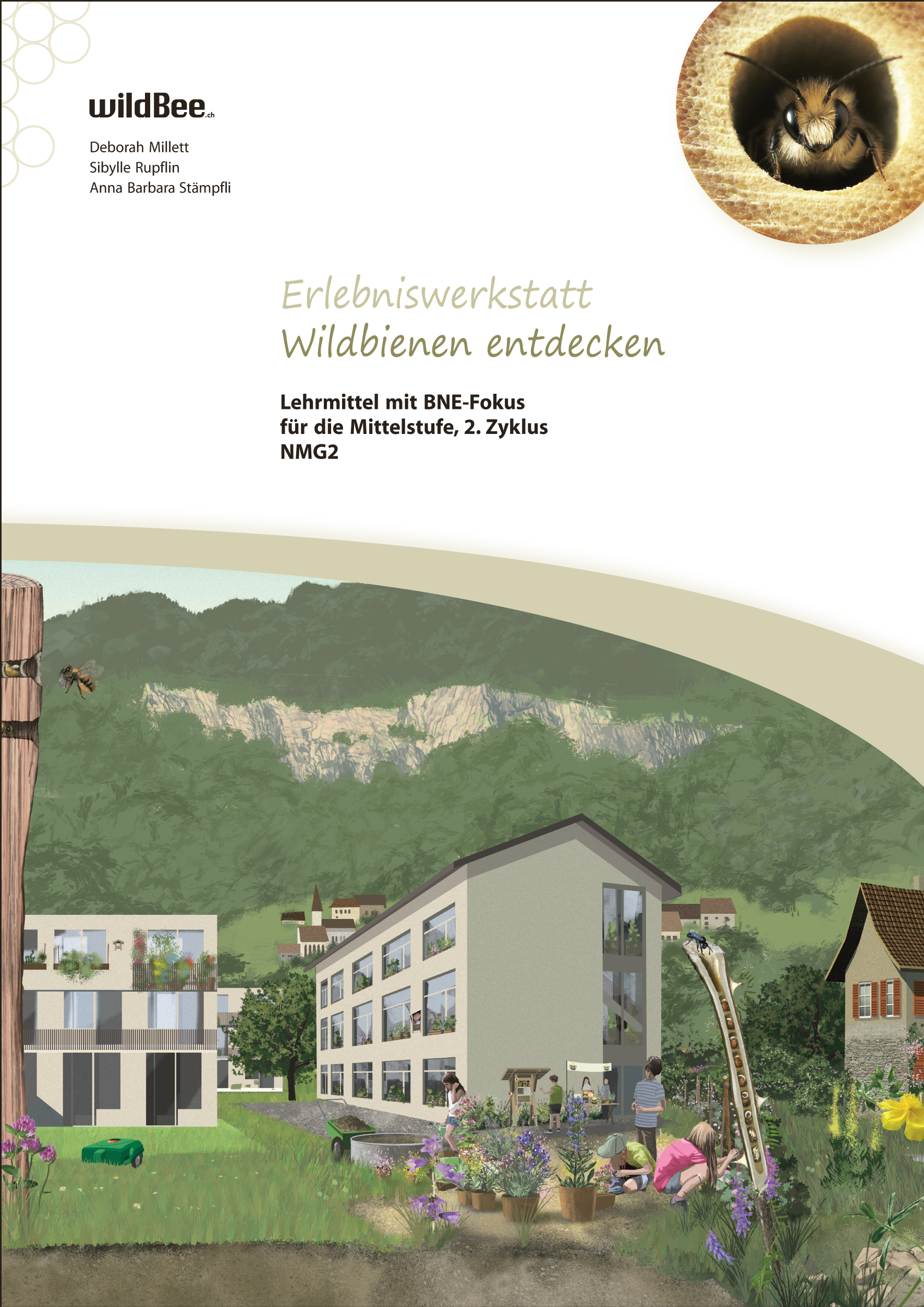 Preview image for LOM object Erlebniswerkstatt «Wildbienen entdecken»