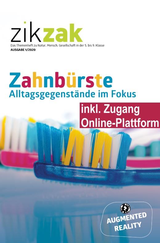 Preview image for LOM object Themenheft zikzak: Die Zahnbürste - Alltagsgegenstände im Fokus
