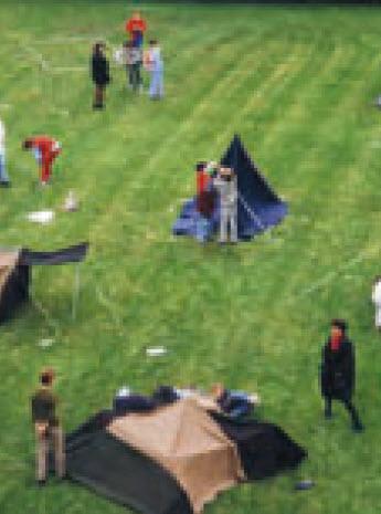 Preview image for LOM object Zelte als Rückzugsort