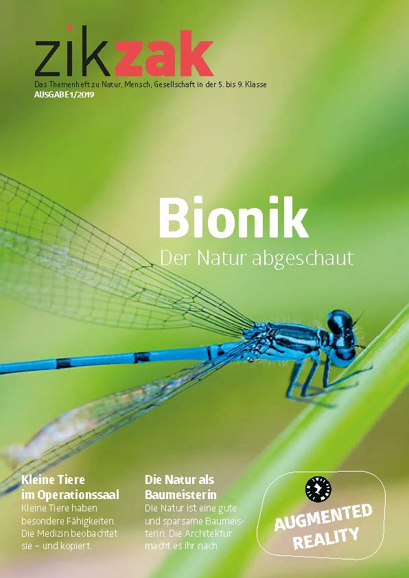 Preview image for LOM object Themenheft zikzak: Bionik - Der Natur abgeschaut